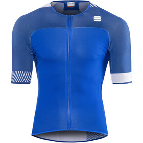 Sportful Bodyfit Pro 2.0 Light Maillot de cyclisme Homme, blue cosmic/twilight blue